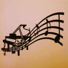 exquisite design music metal wall art prissy 25 best ideas about