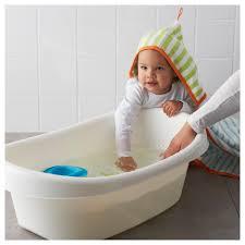 Ikea Slide by Lättsam Baby Bath White Green Ikea
