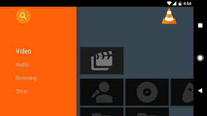 vlc media player for android how to get a tv style interface in your android media player