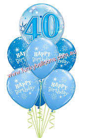 40th birthday balloons delivered 40th birthday funky balloons perth wa balloon gift