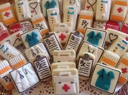 Decorated Gourmet Cookies Medical Cookies By Sugar By Julie Blue Scrubs Red Cross