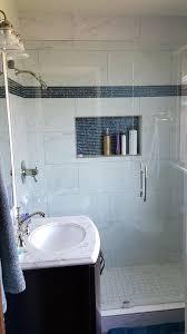 A1 Shower Door Seamless Shower Door Polished Nickel Two Way Hinges And