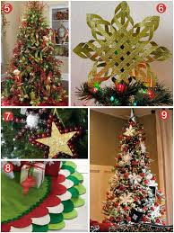 Ideas For Christmas Tree Toppers by 9 Stunning Christmas Tree Decoration Ideas