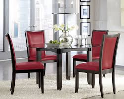 cheap red dining table and chairs black kitchen table with red chairs basement inspiring