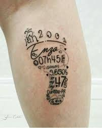 tattoo pictures baby footprints footprint tattoo tattoos pinterest footprint tattoo