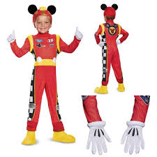 2t Mickey Mouse Halloween Costume Toddler Mickey Roadster Deluxe Disney Halloween Costume Disney
