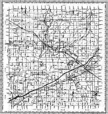 Michigan Township Map by Shiawassee County Road Commission