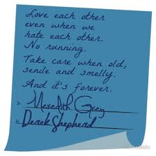 wedding quotes greys anatomy merder s post it wedding grey s anatomy by michellelo greys