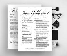 Resume Ms Word Template Sophisticated Resume Design For Microsoft Word Template By