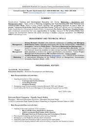 contract trainer resume contract trainer resume sample personal