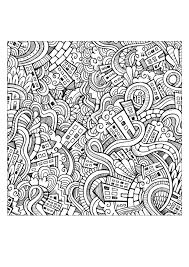 doodling doodle art coloring pages for adults justcolor page 2