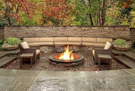 Firepit Area Outdoor Living Areas Pits Walkways Landscaping Service
