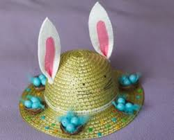 easter bunny hat easy easter hat craft crafty