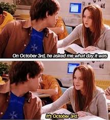 October 3 Meme - happy mean girls day our top 7 memes word public