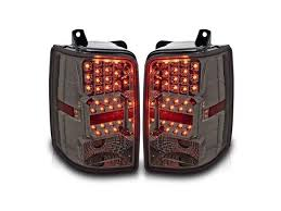 jeep grand cherokee led tail lights 93 96 jeep grand cherokee led tail lights chrome housing smoke lens