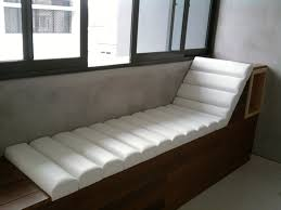 cool white fabric covers for benches also sweet window seat