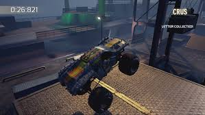 monster jam crush it xbox one amazon co uk pc u0026 video games