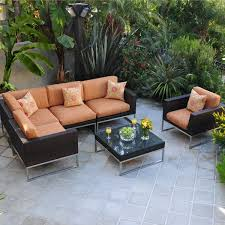 Wicker Sectional Patio Furniture by Patio Interesting Outdoor Sectional Patio Furniture Outdoor