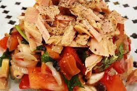 cuisiner la tomate recette ventrèche de thon aux olives noires