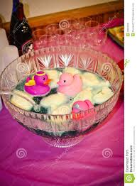 baby shower punch bowl royalty free stock image image 36653636