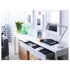 best desk bestå burs desk high gloss white 120x40 cm ikea