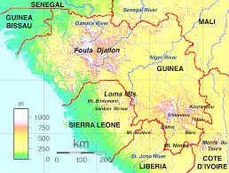 Map Of Africa Quiz by Guinea Highlands Wikipedia
