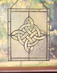 celtic cross wall hanging gifts celtic cross glass window hanging monastery icons