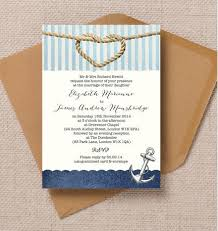 wedding invitations knot nautical knot wedding invitation from 1 00 each