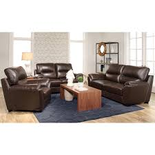 Top Leather Sofas by Abbyson Caprice 3 Piece Top Grain Leather Sofa Set Free Shipping