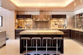 brown granite kitchen counter top block board laminated area floor