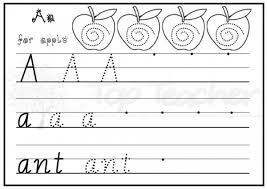 handwriting sheets a z handwriting sheets easy top innovative and