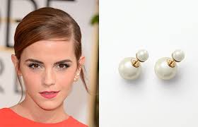 iconic earrings watson wearing s now iconic tribal pearl earring