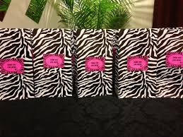 personalized party favor bags zebra party favor bags with personalized tags for my 9 year