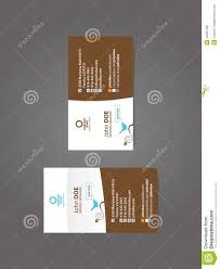 professional social business card stock vector image 43207483