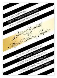 black and white striped wedding invitations top 10 most glamorous black white striped wedding invitations