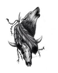 33 best tattoos for men tribal wolf sketches images on pinterest