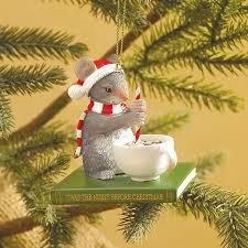 stirring mouse ornament at bas bleu uk0266