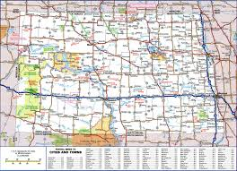 Road Map Of Michigan Large Detailed Roads And Highways Map Of North Dakota State With