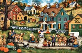 houses thanksgiving visitors artwork occasion wide screen