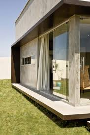 exterior clean and minimalist box house building concept for you