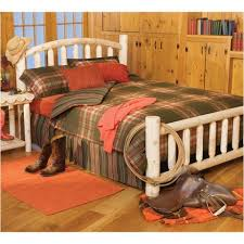 Cabin Bedroom Furniture Cabin Bedroom Furniture Log Beds Headboards Log Nightstands
