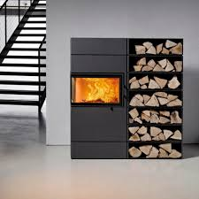 poele a bois steatite wood heating stove contemporary corner steel dexter