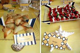 anchor baby shower ideas nautical baby shower food ideas food