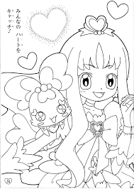 coloring page scan page 4 of 4 zerochan anime image board