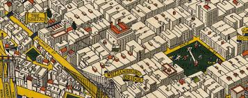 Downtown Manhattan Map This Illustrated 1926 Map Of Manhattan Shows The City As It Was