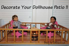 decorate your dollhouse patio diaries