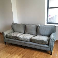 rare george smith english roll arm sofa in uws new york county