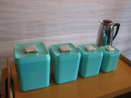 teal kitchen canisters extraordinary turquoise room ideas picture turquoise kitchen