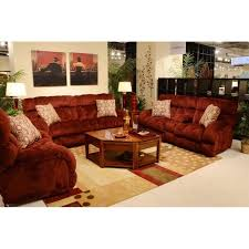 Power Reclining Sofa Set Catnapper Siesta Lay Flat 3 Power Reclining Sofa Set In Wine