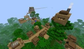 Minecraft 1 8 Adventure Maps Jungle Village Adventure Map Minecraft Project